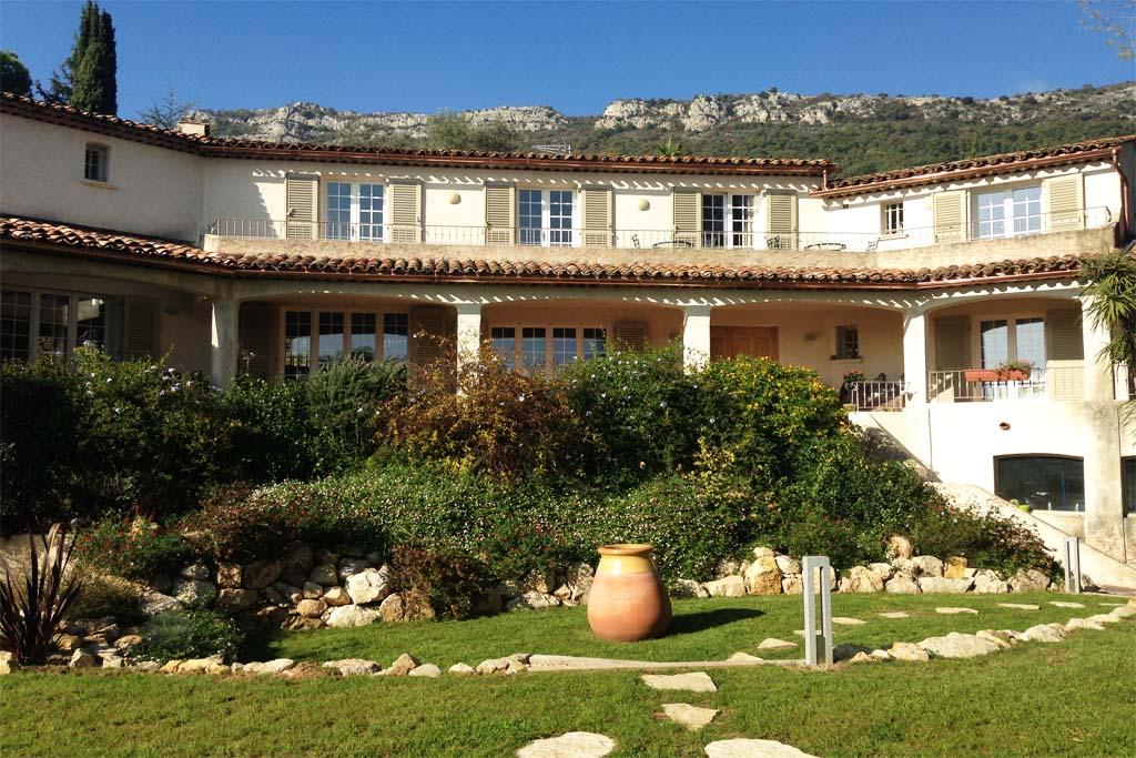 Location vacances à Vence : la villa Sainte-Colombe